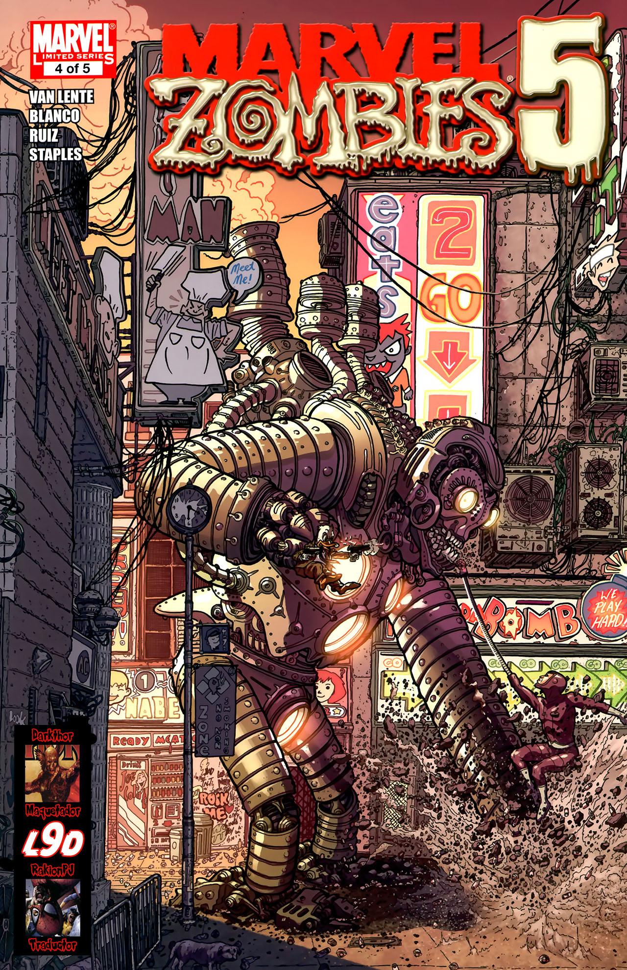 Descargar marvel zombies español completo 1 link incluye cómic